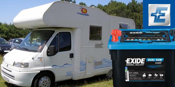 Bateries específiques per a caravanes i autocaravanes.
